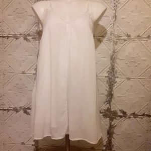Elan White Cover Up Dress